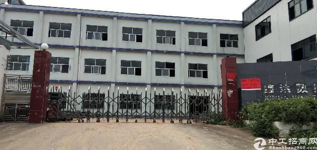 虎门镇原房东厂房出租独门独院实业面积,可办环评,广深高速附近