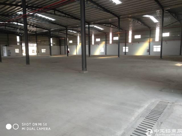 虎门沿江高速单一层8米厂房出租
