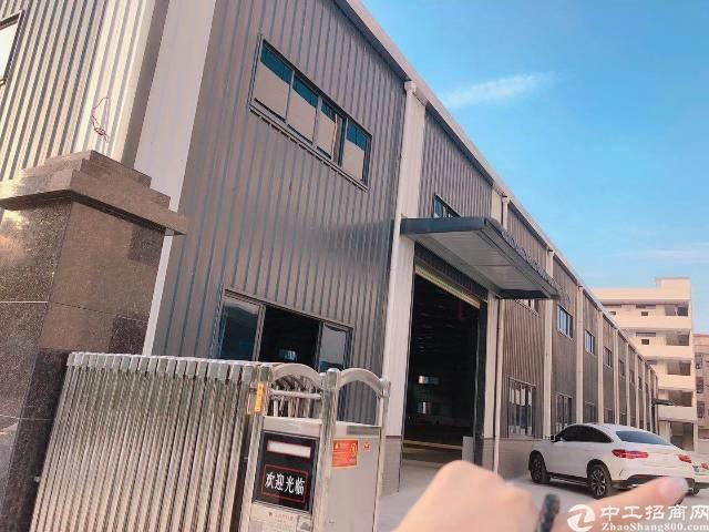 横沥新出厂房3100平单一层厂房招租