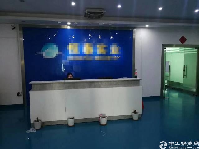 福永大洋田地铁口附近楼上1000平方精装修转让
