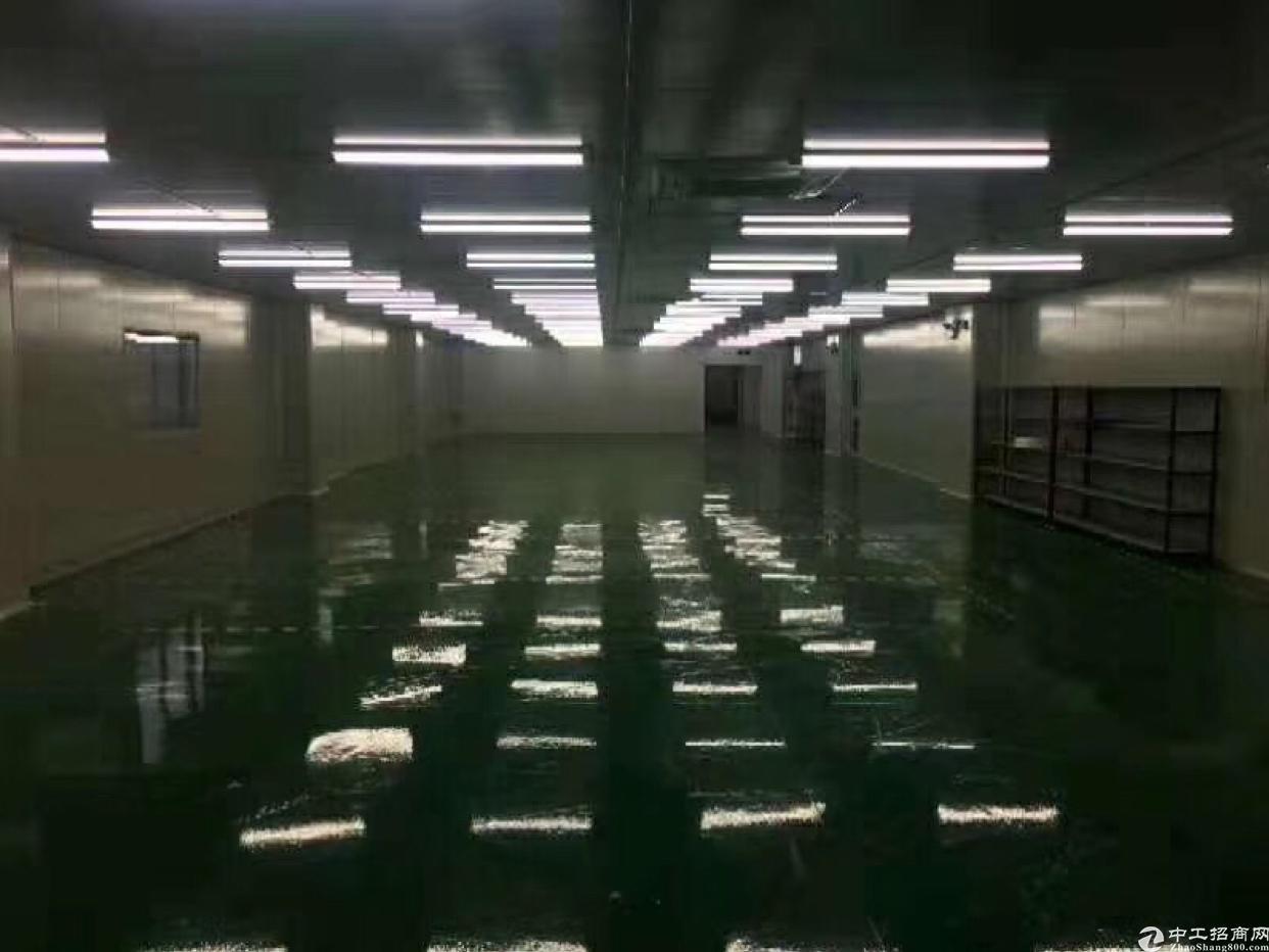 西乡固戍地铁口附近新出全新无尘车间2260平出租