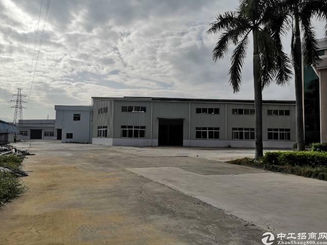 常平镇钢结构厂房18000任意分租