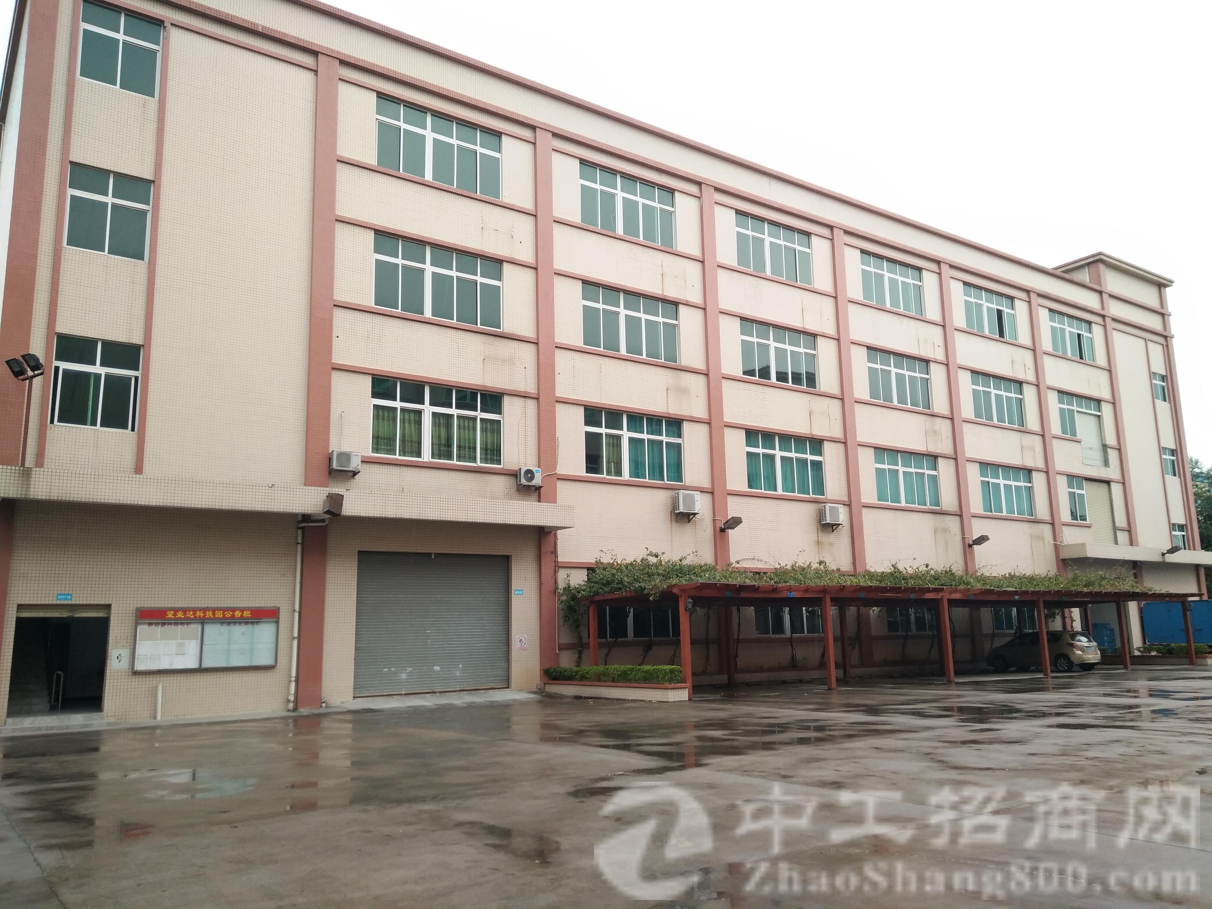 茶山生态园大道旁全新标准厂房每层2800平米