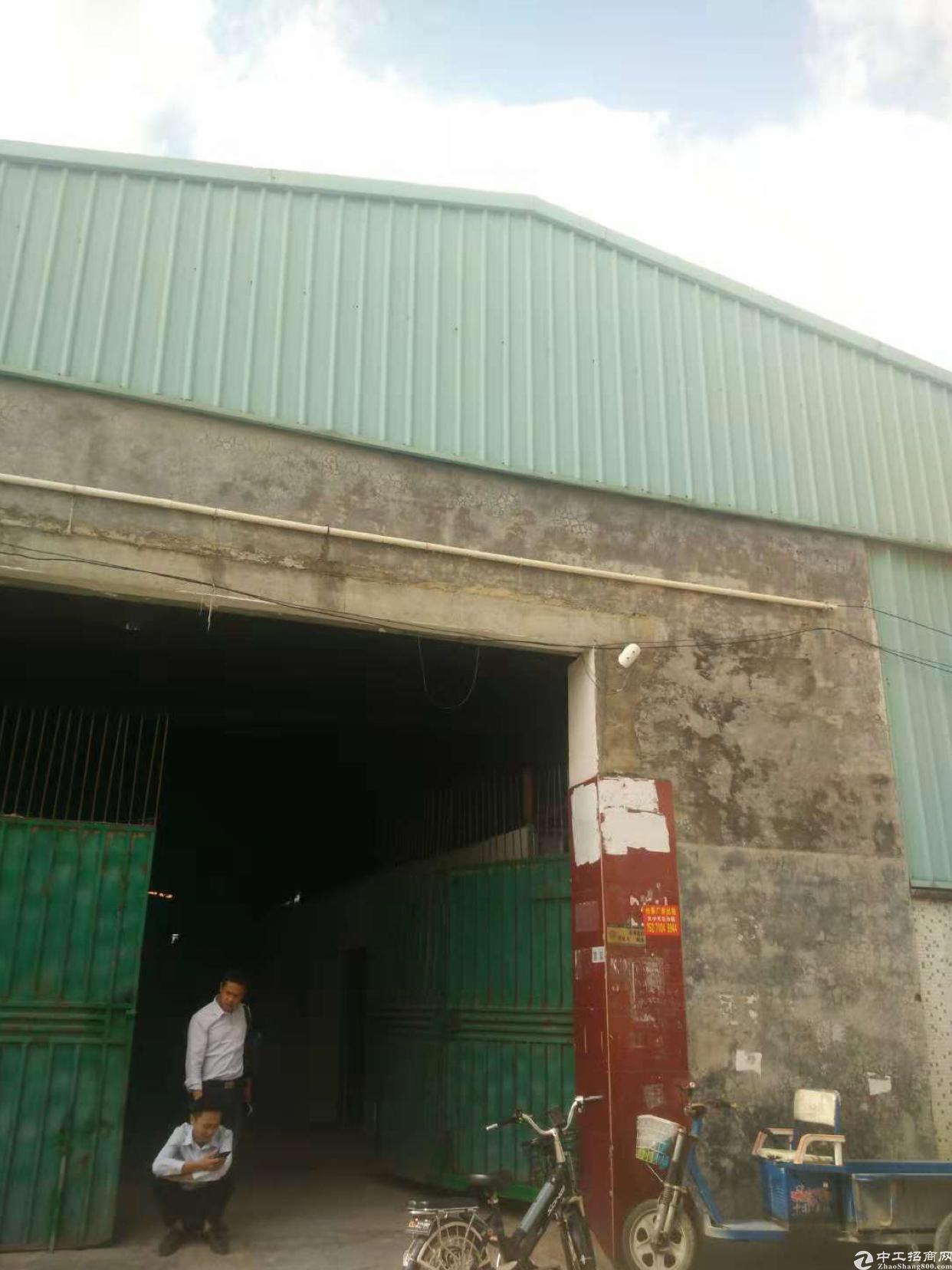 坪山沙坣可做废品打包钢构1600平厂房出租