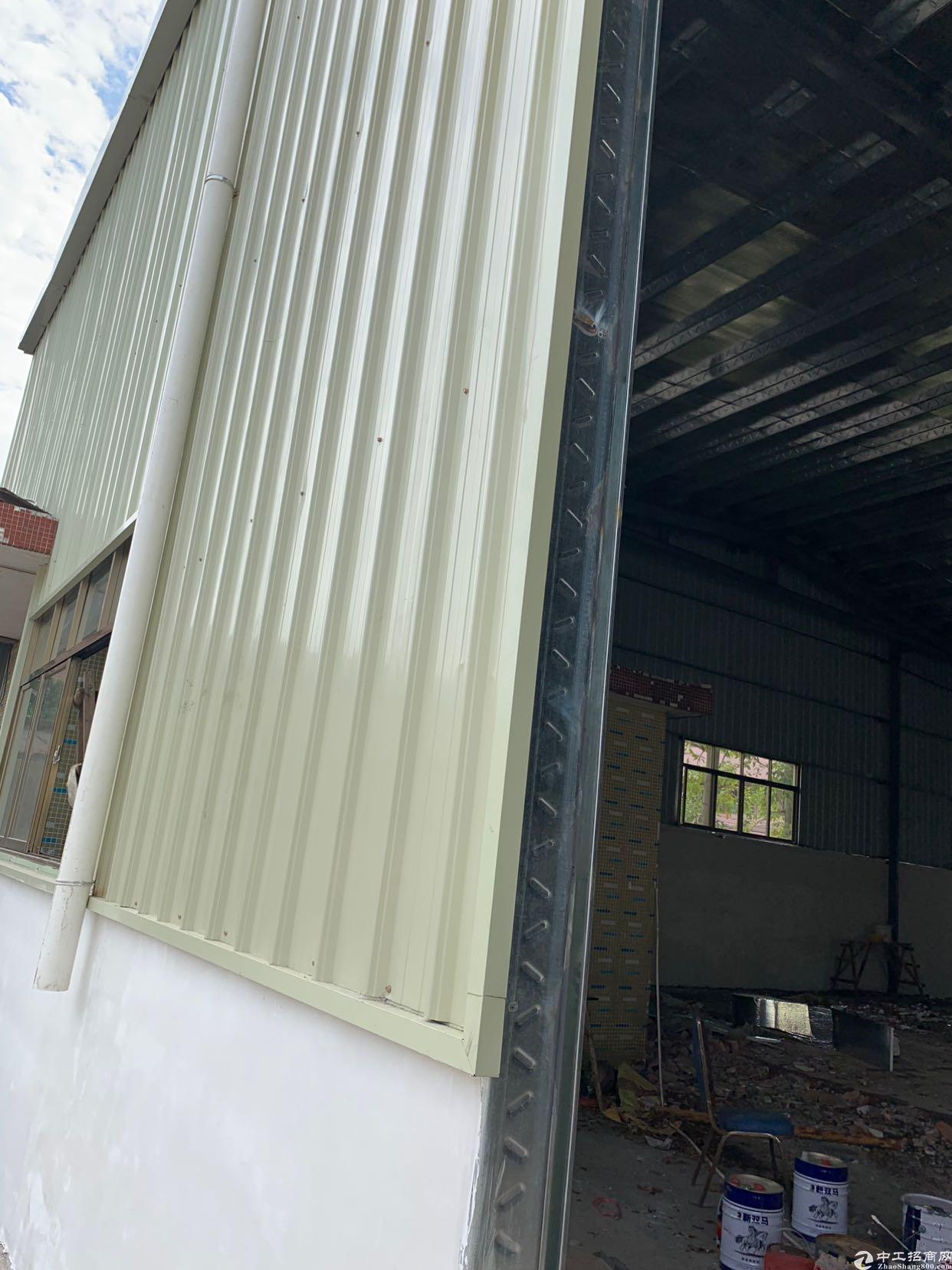 虎门怀德新建单一层铁皮房2600平方,只租20一平方