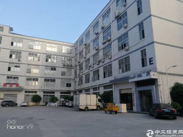 公明大型工业园区楼上1000平米带豪华装修厂房出租
