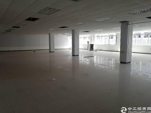 沙井原房东三楼厂房450平方出租