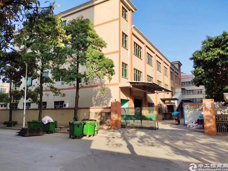 松岗地铁出口原房东红本独院厂房5200平米低价出租带精装修