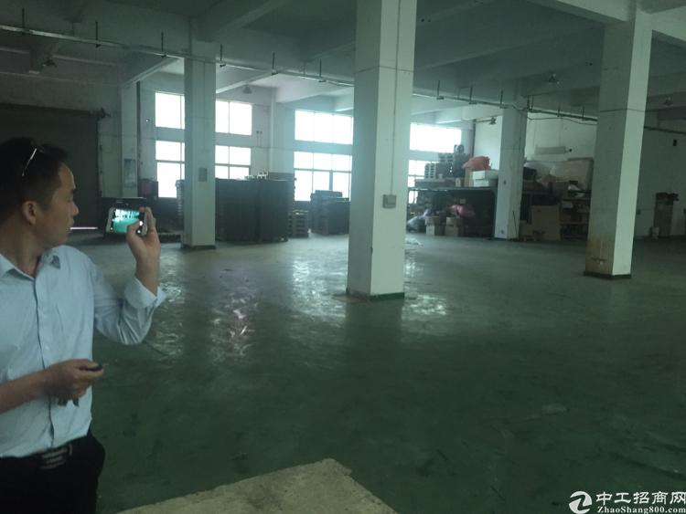 福永最新出独院一楼1300平精装修厂房。
