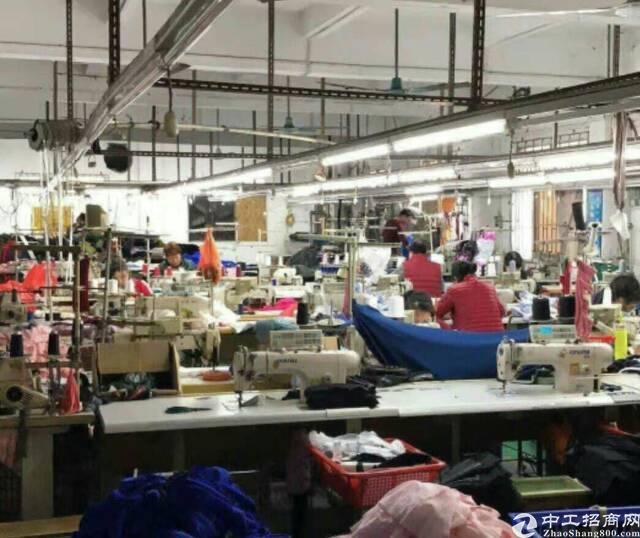 虎门现成服装厂转让980平米,租金12000,不要转让费