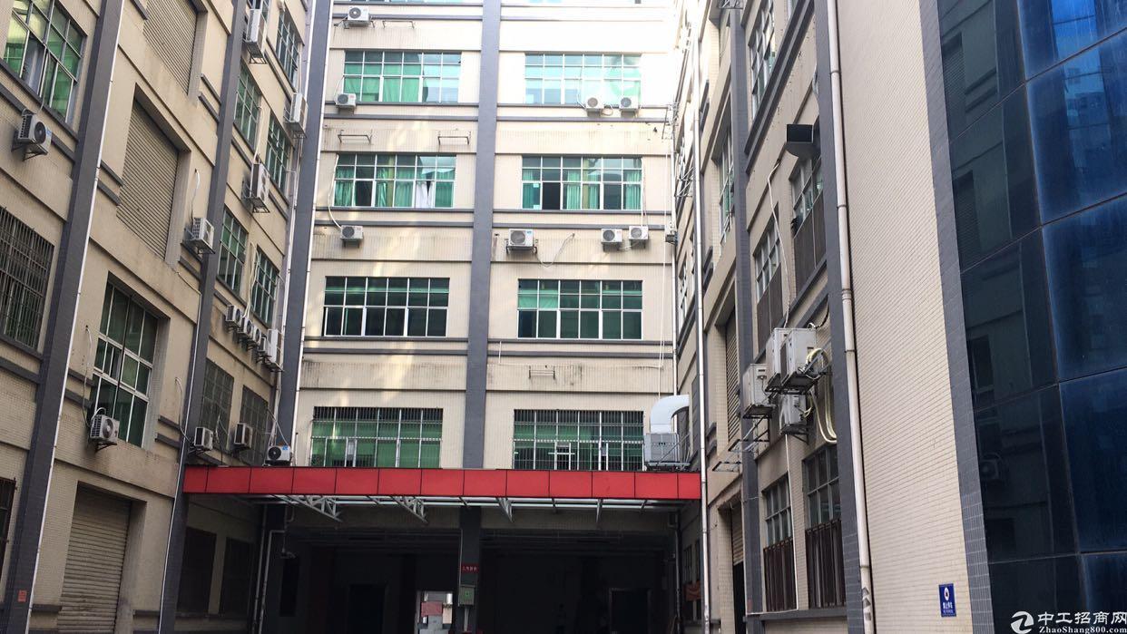 招租:观澜福民新出成熟工业园楼上1280平方