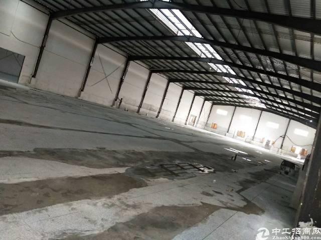 万江新空出4000平方钢构厂房,4000平方,滴水八米,适合