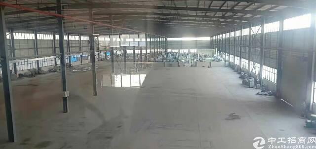 大朗镇洋乌村新出单一层钢构独院厂房9600平方,滴水12米