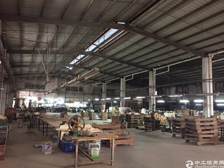 凤岗镇独门独院厂房钢结构1500平,大空地拖头可进出