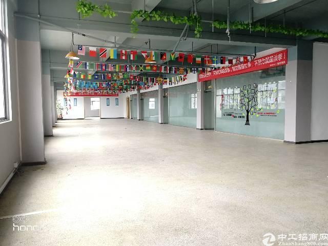 沙井后亭益华电子城附近楼上900平方带装修免转让费