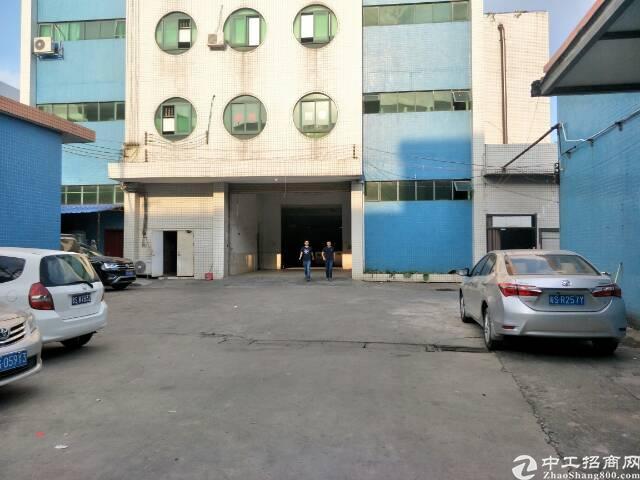 万江新和600平方标准一楼厂房出租,可办环评