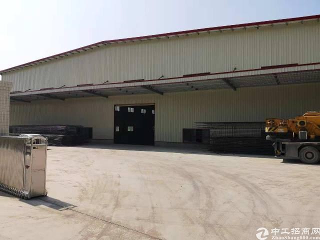 虎门单一层钢构厂房出租6400平租9元电400kva可办环评