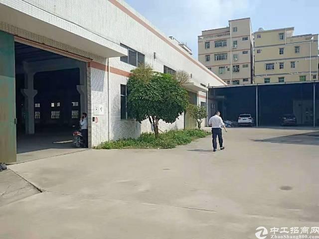 惠州市惠阳区现有独门独院标准单一层转让到顶厂房招租-图2