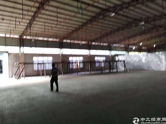 单一层厂房2600平方,现成塑胶环评厂房出租