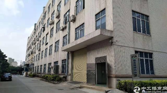 虎门镇新出原房东标准厂房出租一楼2300平方楼高9米有行车
