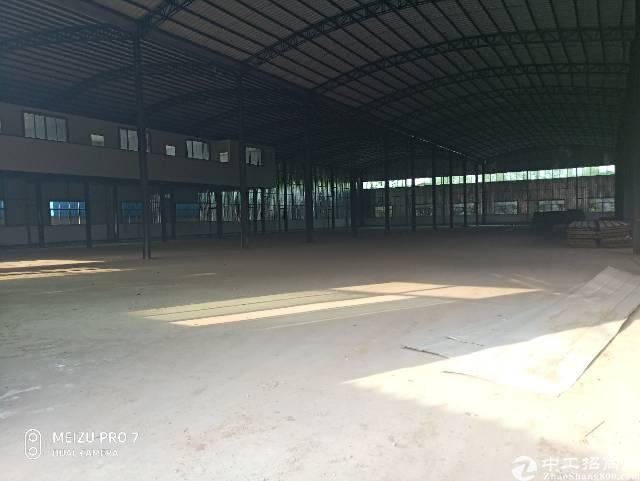 原房东独院钢构厂房8500方