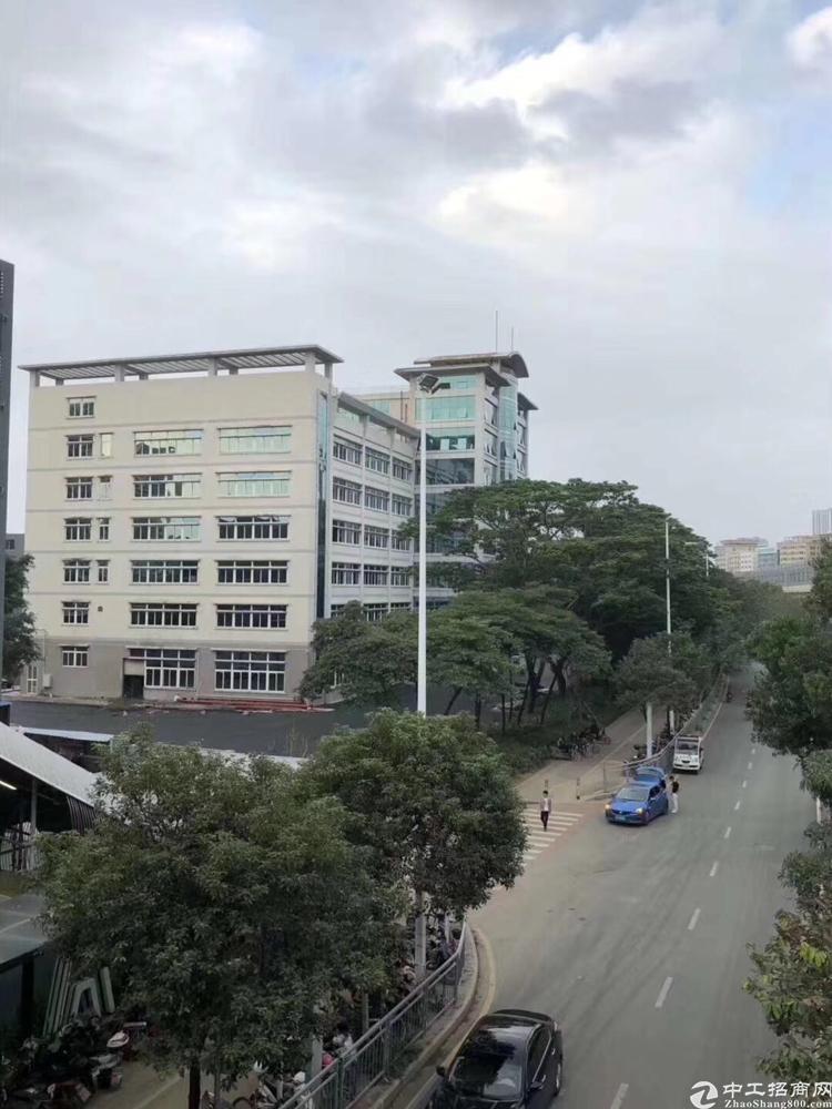 福永塘尾地铁口附近新出带豪华装修写字楼6000平50起分,