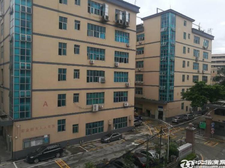 西乡固戍地铁站附近精装厂房楼上2300平全新装修