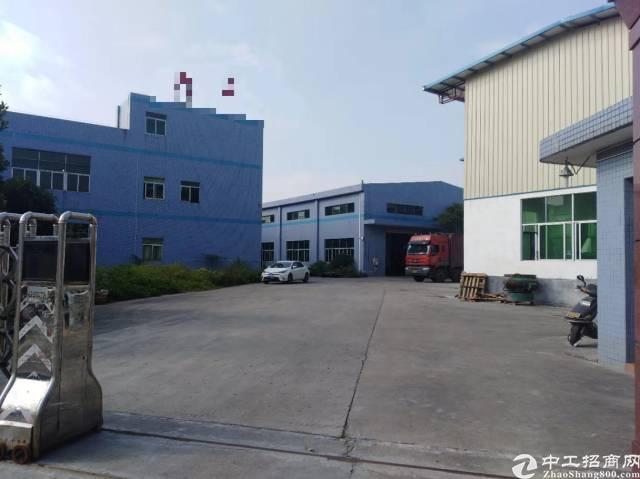 茶山新出原房东独院钢构厂房3600平,带行车