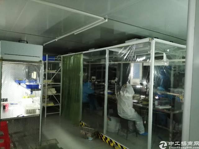 宝安28区无尘车间厂房600平米出租
