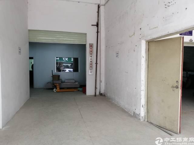 西乡钟屋107边一楼600平米厂房出租