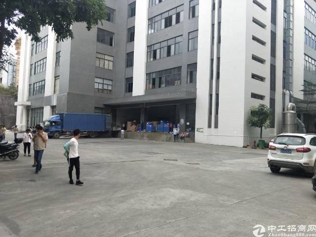 光明南光塘明出口红本1-2层4000平米带卸货平台