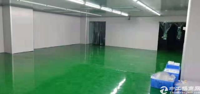 清溪三中带地坪漆厂房1800㎡出租