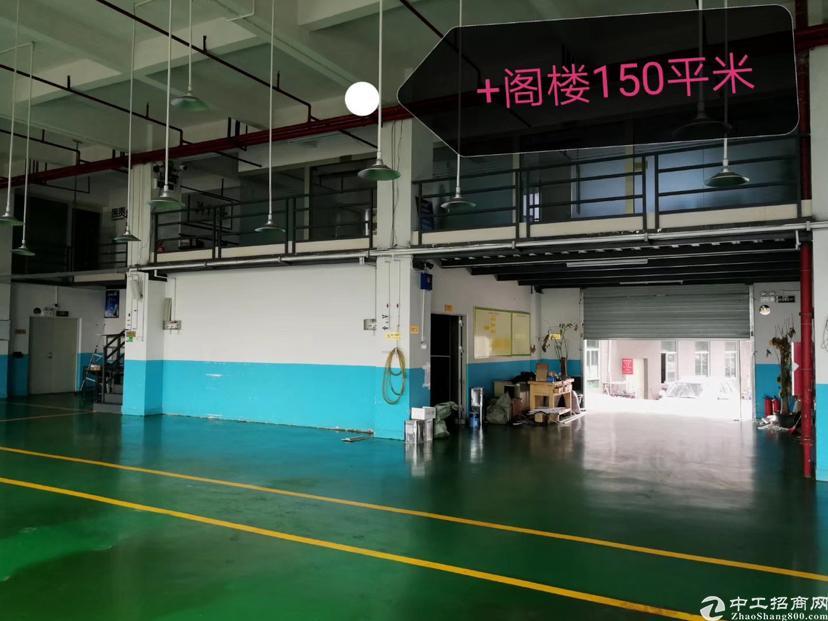 凤岗临深大路边一楼有高台1400平方