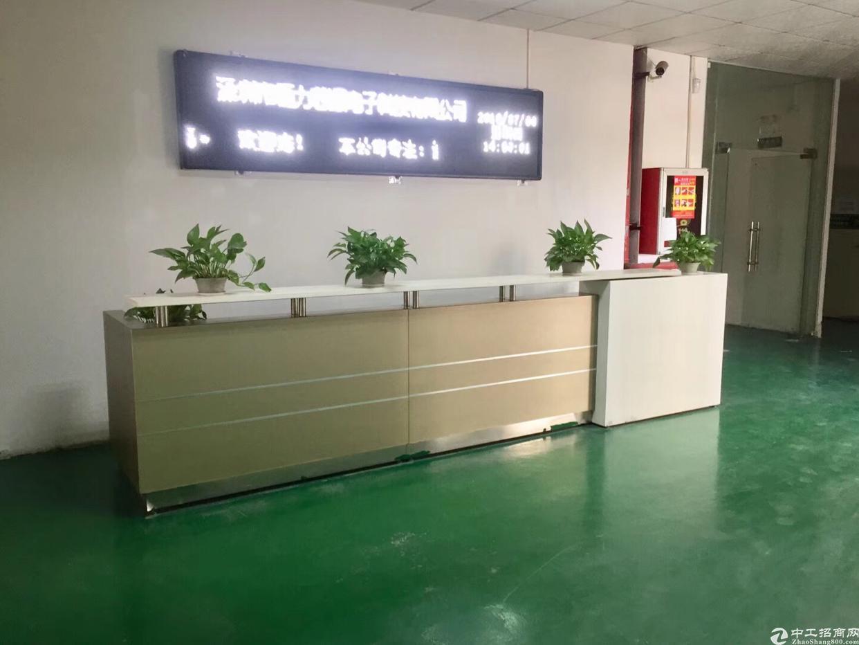 西乡臣田工业区新出原房东1760平厂房出租