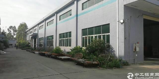 茶山镇京山工业区新出3800平带行车厂房
