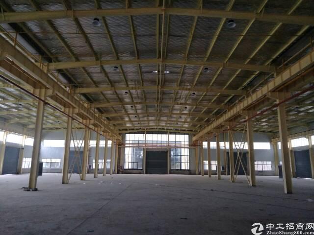 蔡甸钢独栋结构厂房3850平米,可生产加工仓储