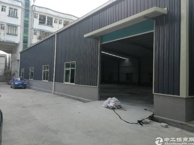 桥头镇田心工业区出租钢构厂房一栋