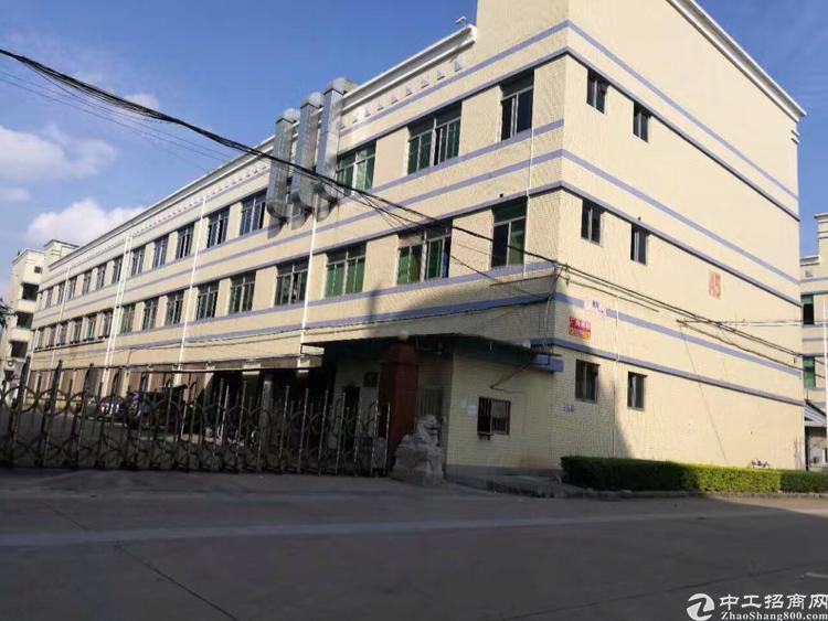 松岗宝安大道边原房东红本独院厂房三层7200平米实际面积出租