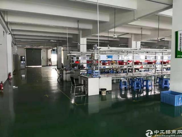 公明南光龙大高速口原房东1500平米精装修厂房出租-图2