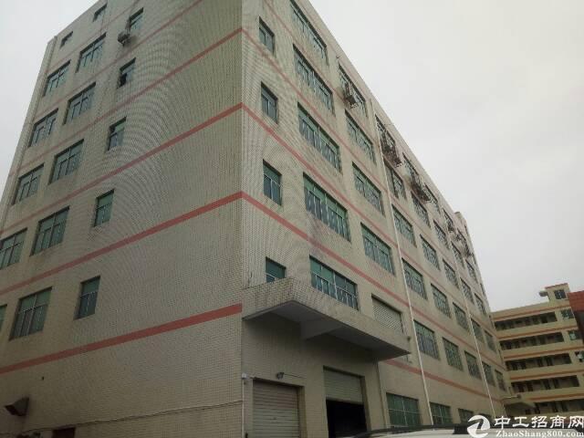 福永沿江高速口附近楼上原房东红本厂房3500平米实际面积出租