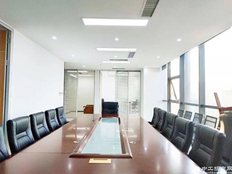 龙华地铁口精装修办公室458平招租