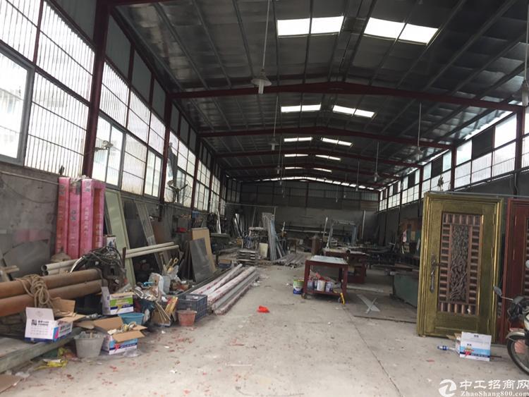 独门独院钢结构厂房700平、滴水6米