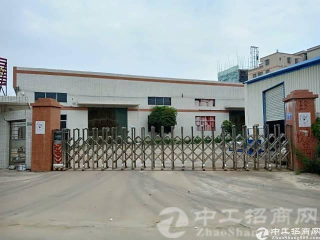 厚街镇桥头附近出租一手房东单一层钢结构厂房3100平方 无公