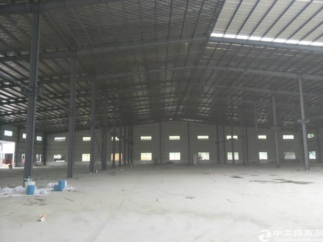 茶山带消防喷淋及国土证!✨全新独院单一层钢构厂房12700平