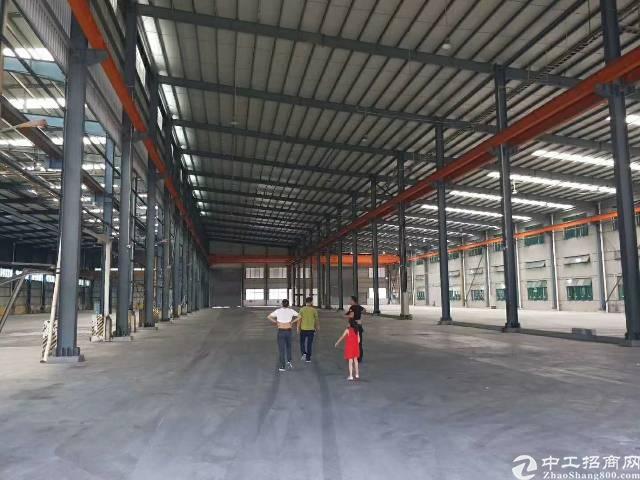 惠州市仲恺靠近东莞现有独门独院3300钢构现成行车厂房招租