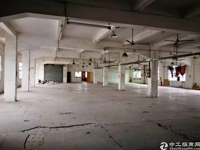 东莞市茶山镇1300平二楼厂房