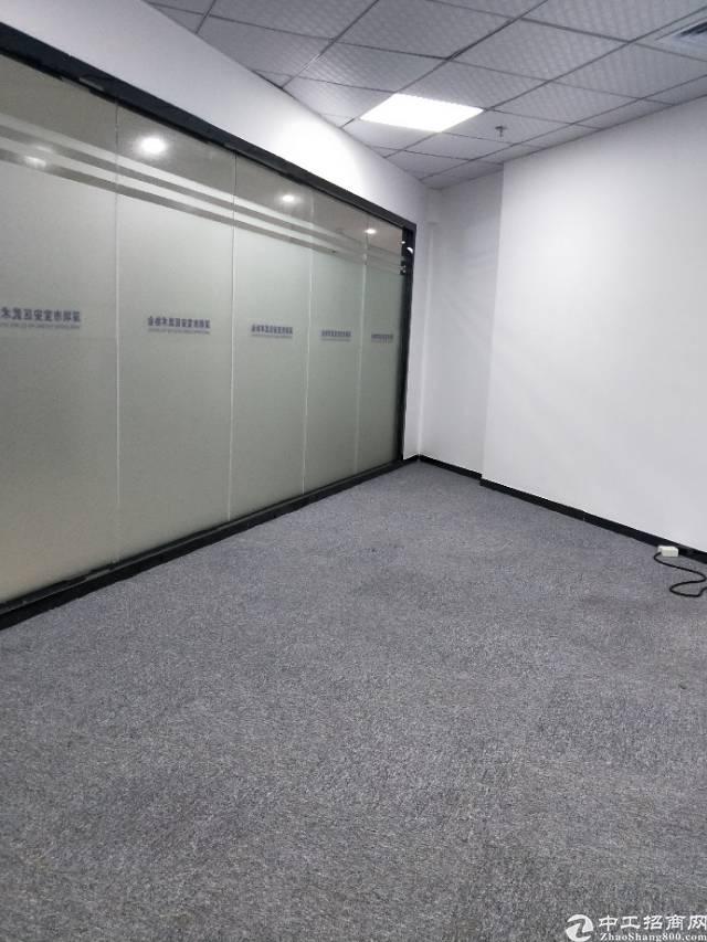 宝安区西乡洪浪北地铁口精装写字楼60平出租