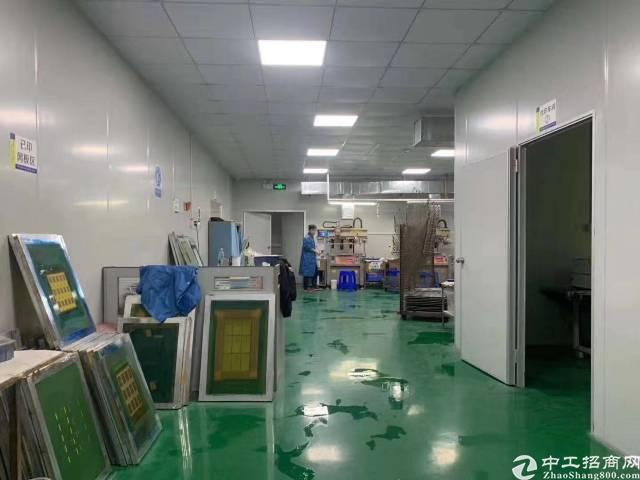 凤岗镇金凤凰新出带无尘车间标准厂房7楼1500平