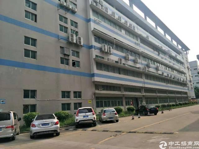 福永新和大型工业园区3300平米整层厂房出租