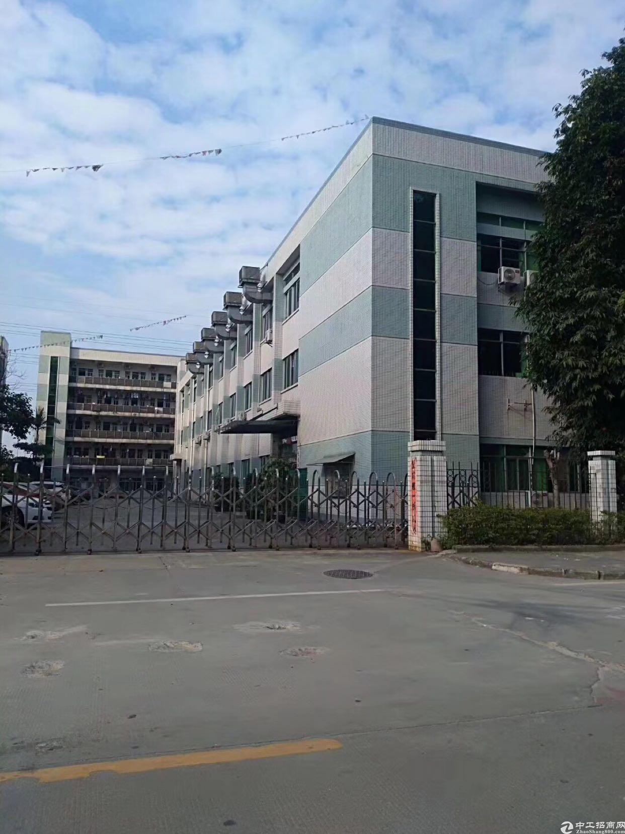 新出原房东标准独院厂房6190平方米